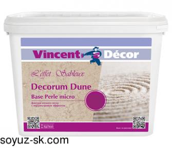 Декоративное покрытие Decorum Dune base Perle micro (Декорум Дюн база Перль микро)