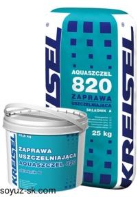 Aquaszcel 820.Эластичный гидроизоляционный раствор