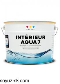 Intérieur Aqua 7 (Ентерьёр Аква 7).Интерьерная краска премиум класса.