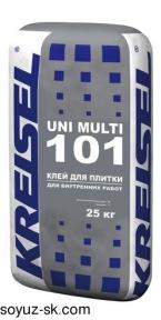 Uni Multi 101. Плиточный клей для внутренних работ