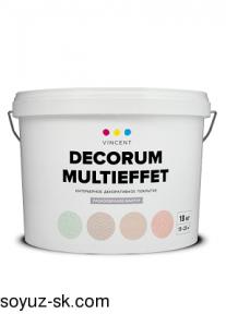 Decorum Multieffet(Декорум Мультиэффект).Интерьерное декоративное покрытие.