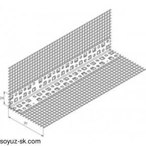 ПВХ уголок с стеклосеткой 10х15