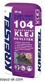 Elasti Multi 104. Эластичный универсальный клей для плитки
